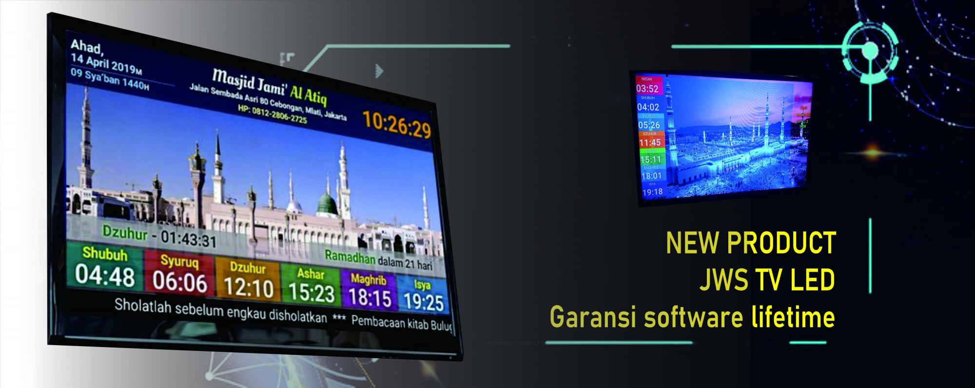 JADWAL SHOLAT DIGITAL TV LED